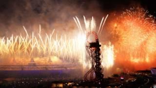 倫敦奧運會開幕式焰火