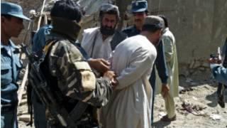 اعتقال طالباني