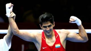 भारतीय बॉक्सर विजेंदर सिंह