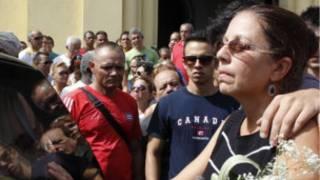 أرملة الناشط الكوبي اوزوالدو بايا