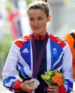 英國自行車選手伊麗莎白•阿米斯特德