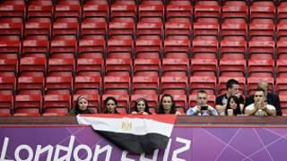 مقاعد فارغة في منافسات الأولمبياد
