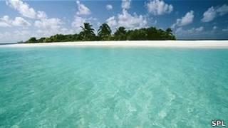 atolón tropical