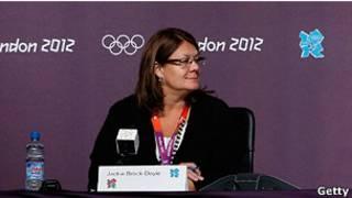 伦敦奥组委外联负责人布鲁克-多伊尔(Jackie Brock-Doyle)