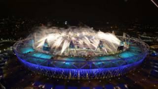 افتتاح دورة الالعاب الاولمبية في لندن
