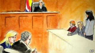 Рисунок из суда