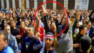 تمام الصعب في أولى المظاهرات في سوريا