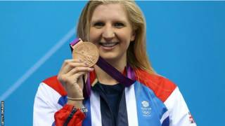 Vận động viên bơi lội Anh, Rebecca Adlington