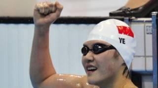 16歲的葉詩文再為中國隊奪得一枚金牌