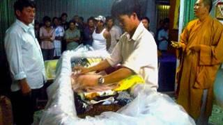 Đám tang bà Đặng Thị Kim Liêng