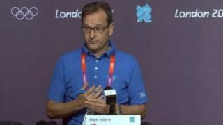 馬克•亞當斯,國際奧委會
