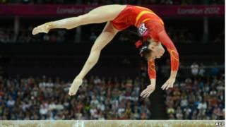 眭祿,中國女子體操