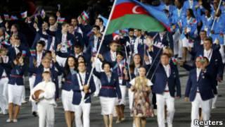 Делегация Азербайджана