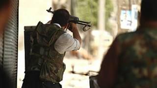 مسلحين من الجيش السوري الحر
