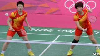 Jogadoras chinesas | Foto: AFP