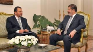 الرئيس المصري و رئيس وزرائه