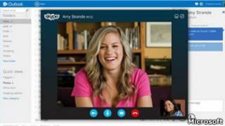 Outlook, skype