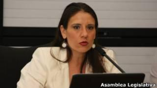 Karina Bolaños. Asamblea Legislativa de Costa Rica