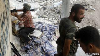 مقاتلو الجيش الحر في حلب