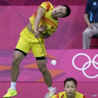 倫敦奧運羽毛球混雙的兩場半決賽都異常激烈。