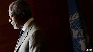 Kofi Annan deixou o  cargo de enviado à Síria no começo de agosto (AFP)