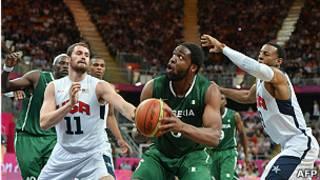 equipo de baloncesto olímpico de EEUU