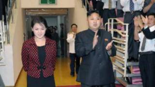 کیم جونگ اون و همسرش