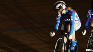 Российская велосипедистка