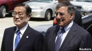जापान और अमरीका के रक्षा मंत्री