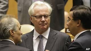 Vitaly Churkin, embajador de Rusia ante la ONU