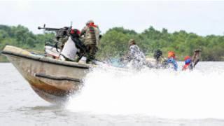 Wasu mayakan sa kai a yankin Niger Delta Nijeriya