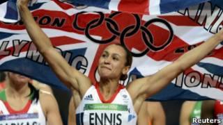 Jessica Ennis, vencedora do heptatlo (Reuters)