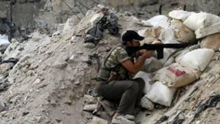 Wani sojan Free Syrian Army a Aleppo
