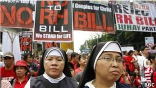 Demo menentang UU kontrasepsi
