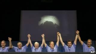 Центр управления полетами НАСА