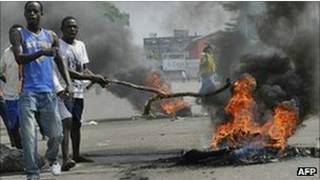 ساحل العاج، مقتل، هجوم، شرطة
