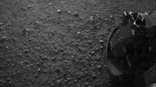 Image from Curiosity shuttle