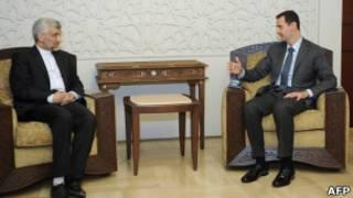بشار اسد، سعید جلیلی