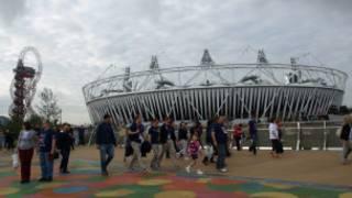 倫敦奧林匹克公園的主場館