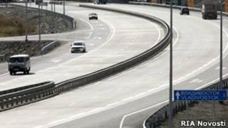 Скоростная магистраль в Приморье