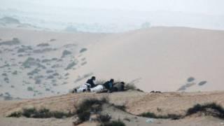 القوات المصرية تستعد لمهاجمة متشددين إسلاميين