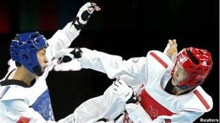Võ sỹ Taekwondo của VN Lê Huỳnh Châu