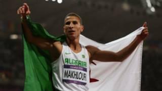 العداء الجزائري توفيق مخلوفي