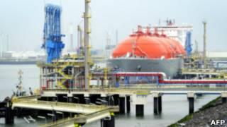 LNG-термінал у Роттердамі