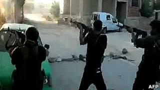 Кадры из Алеппо