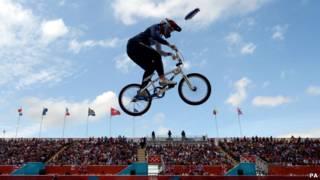 Balapan BMX di Olimpiade London