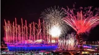 倫敦奧運開幕式