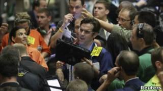 Трейдеры на Чикагской бирже