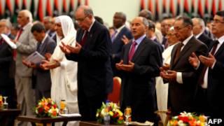 В Триполи состоялась торжественная церемония передачи власти