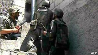 Правительственные войска в Алеппо